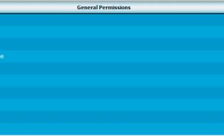 vBulletin General Permissions